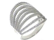 BAGUE EN ARGENT ANDV 024 KAVAK DIAMANTS Kavak Diamonds
