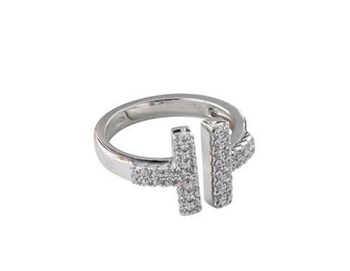 SILVER RING ANDV051 KAVAK DIAMONDS
