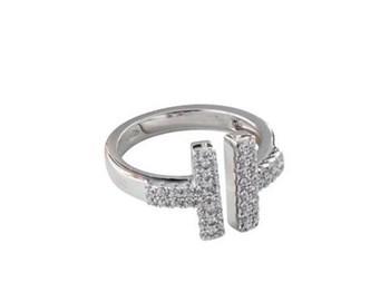 ANEL DE PRATA ANDV051 KAVAK DIAMONDS