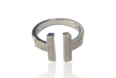 BAGUE EN ARGENT ANDV056 KAVAK DIAMANTS Kavak Diamonds