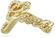 GOLDEN RING WITH CUBIC ZIRCONIA GUESS UBR72508-54 UBR21202-54