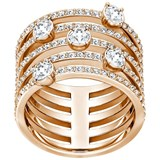 GOLDEN RING ROSÉ WITH SWAROVSKIS WHITE 5199633