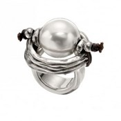 RING PEARL LARGE ONE OF 50 ANI0390 Uno de 50