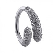 RING DURAN EXQUSE SILVER AND ZIRCONS 00505054