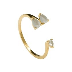 RING GLADSTONE, GOLD P D PAOLA Gladstone Gold