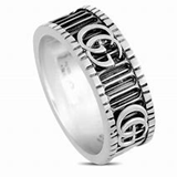 RING GUCCI SILVER YBC551899001015 MARMONT YBC5518990010-15