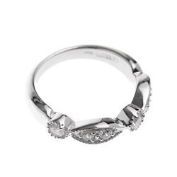 Anillo lágrimas/círculos plata talla 14 R22148Z54 Cerruti 1881
