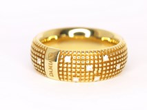 RING YELLOW METROPOLITAN 0130 Damiani