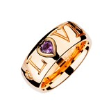 RING OREAGE AMETHYST DIAMONDS