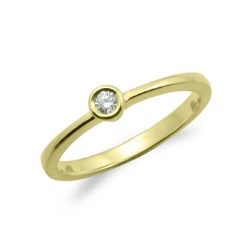 BRIGHT GOLD RING