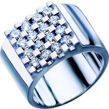 RING WHITE GOLD AND DIAMONDS