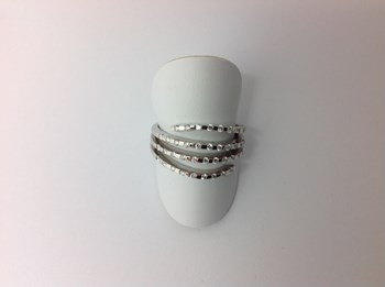 RING WHITE GOLD AND DIAMATES 185112