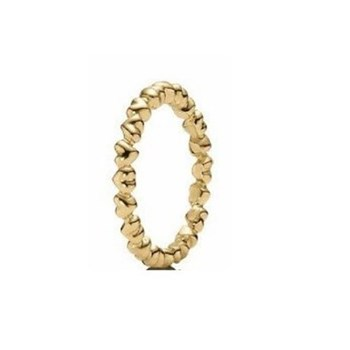 GOLD PANDORA 150160-56 HEARTS RING