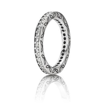 RING PANDORA SILVER AND STONES 190618CZ