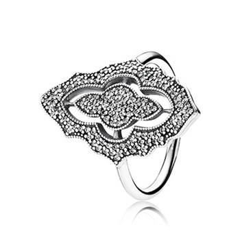 RING PANDORA SILVER AND STONES 190917CZ
