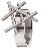 RING FOR WOMEN SURGICAL STEEL XEN 031295G0