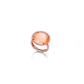 VICEROY SILVER PLATED RING PINK 1170A012-49