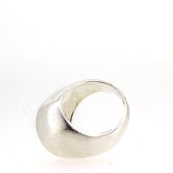 Anillo plata mate irregular 1535-2 Stradda