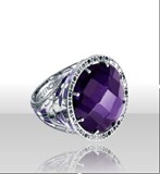 RING SILVER VICEROY 1002A000-97