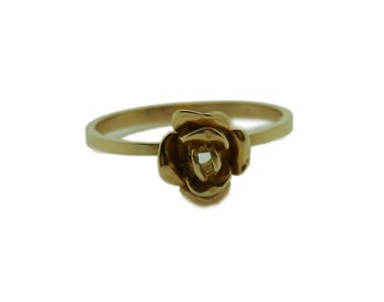 BAGUE 18K OR ROSE