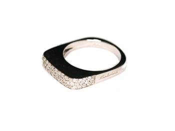 Ring white gold and bright 0074 Salvini