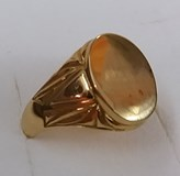 RING SEAL GOLD - OWN - 2471