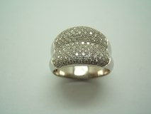RING SOLITAIRE WHITE GOLD AND DIAMOND B-79