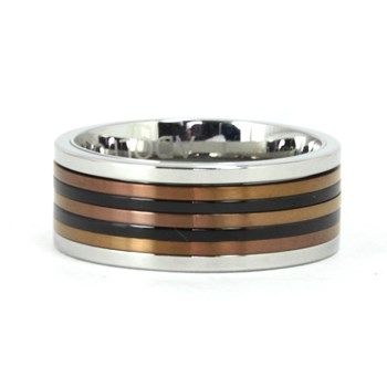 RING RING STEEL ADOLFO DOMINGUEZ AD023624