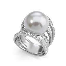 RING RING SILVER MAJORICA 2313-PEARL 2313-perla