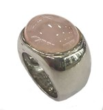RING THOMAS SABO SILVER AND QUARTZ PINK TR1860-001-13