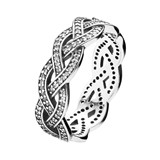 RING BRAID CIRCUS PANDORA 190913CZ