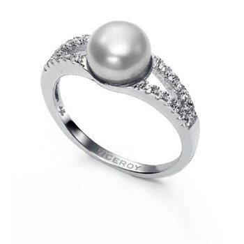 RING VICEROY SILVER WITH PEARL NATURAL 20000A016-60