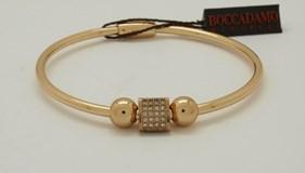 Brazalete de bronce dorado XBR119D Boccadamo