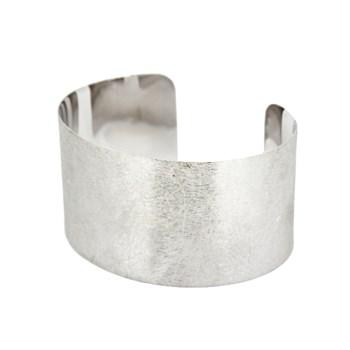 Argent bracelet texturé 44P 1 44P1 Stradda