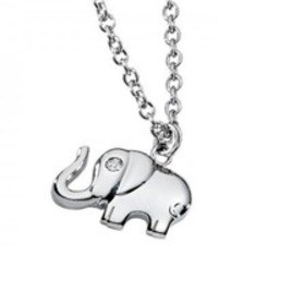 Necklace chain pendant Morellato elephant S01N327P