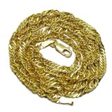 Solid gold singapur chain of 18k Never say never