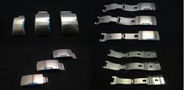 Cierre acero para correa metalica Ref CLASP2: Color Acero y Ancho 22mm CMCLASP2.CC.22 Diloy