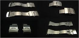 Cierre acero para correa metalica Ref CLASP4: Color Acero y Ancho 16mm CMCLASP4.CC.16 Diloy
