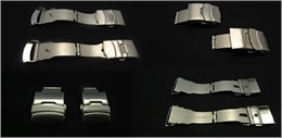 Cierre acero para correa metalica Ref CLASP4: Color Acero y Ancho 18mm CMCLASP4.CC.18 Diloy