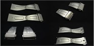 Steel closure for metal strap Ref CLASP5: Color Steel and Width 12mm CMCLASP5.CC.12 Diloy