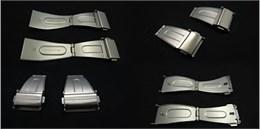 Cierre acero para correa metalica Ref CLASP5: Color Acero y Ancho 24mm CMCLASP5.CC.24 Diloy