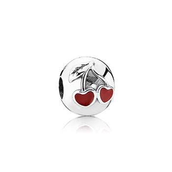 Abalorio Clip Pandora cerezas 791093EN39