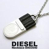 Médaille pendentif acier DIESEL DXX0354040