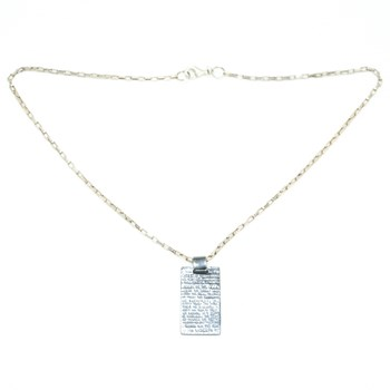 PENDANT OF WOMAN DMHRC002-WHITE Demaria DMHRC002-BLAN