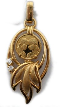PENDANT OF LOVE GOLD