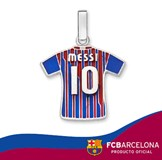 SILVER PENDANT T-SHIRT MESSI 10-106