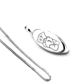 PENDANT TOLD ME TO YOU BEAR 585-CP6429 Hot Diamonds