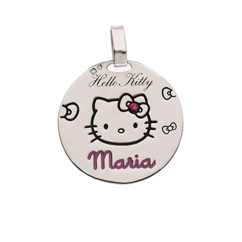 PENDANT HELLO KITTY SILVER CHAIN 1HK-0002.1