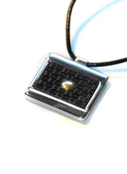 Colgante MORELLATO acero y oro 5015405