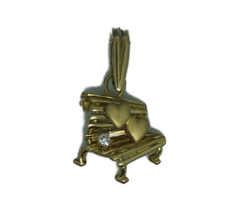 PENDANT GOLD BENCH WITH 2 CORES AND BRIGHT